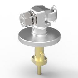"Herrajes de alta tensión para conectar con ancla 15/32"", sin tornillo de fijación para transformadores Ref-HATA 2050"