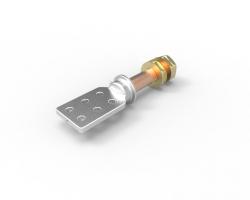 "HERRAJE B.T. 2000 Amp. Cu. 1-5/8"" L-178mm. (PALA-6) ANSI. SERIE 1.2 Kv."